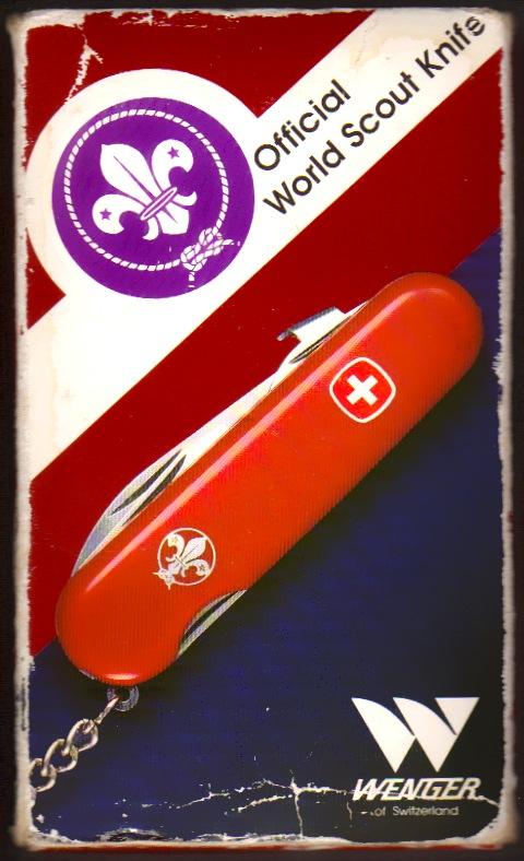 Recherche wenger World scout knife version 90's Show_image