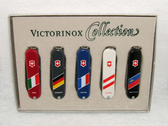 Victorinox Nation Flags Collection Set
