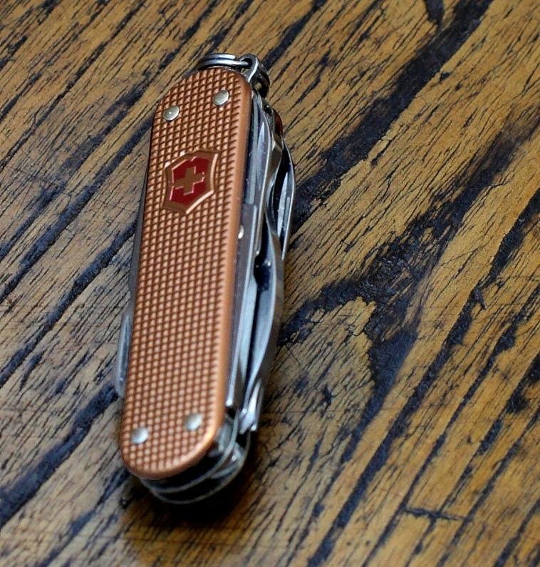 Sakwiki Victorinox Minichamp Alox Copper