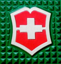 Green Alox with Red Shield