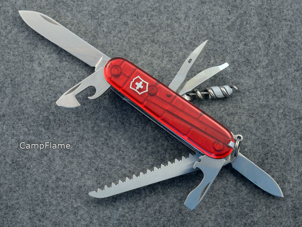 Victorinox CampFlame. Pictures by jazzbass.