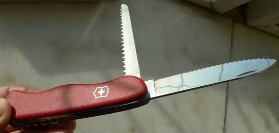 Victorinox Lockblade knife red 0.8803.W