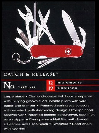 Wenger Catch and Release Catalog Page