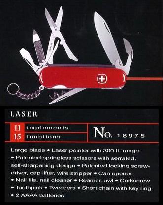 Sakwiki Wenger Laser With Scissors