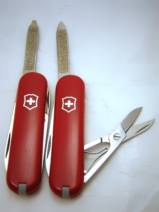 Victorinox like new Bijou Models, one regular and one SD version.