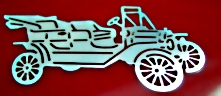 Antique Automobile Inlay